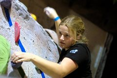 Rock Climbing Photo: Focus is necessary...