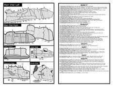 Rock Climbing Photo: box springs map routes pg 2( by rough)