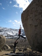 Rock Climbing Photo: EE not making the match