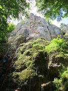 Rock Climbing Photo: Dornenriss direkt