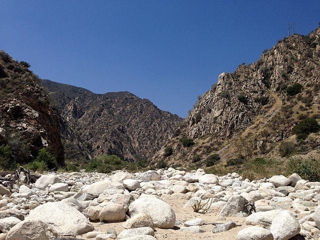 Santa Ana River Canyon, San Bernardino Mountains