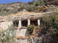 Rock Climbing Photo: Flume in Santa Ana River Canyon, San Bernardino Mo...