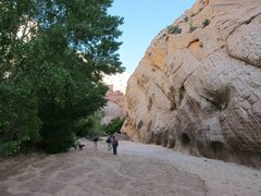 Rock Climbing Photo: Easy walk in with lots of undeveloped lines on bot...