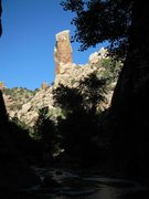 Rock Climbing Photo: You can not miss Hacker's Tower