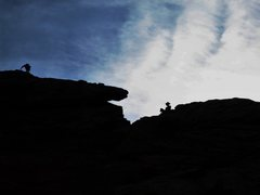 Rock Climbing Photo: The ridgeline somewhere off of First Direct/Baker'...