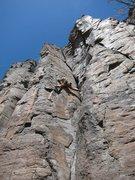 Rock Climbing Photo: Crux time