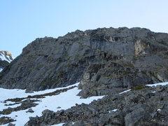 Rock Climbing Photo: the base of Loosey Goosey