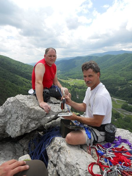 South Peak Summit, Seneca Rocks, West Virginia