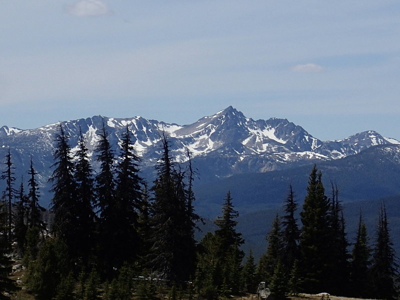 Rock Climbing Photo: East side of Mt Remmel from above Sunny Pass.