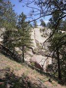 Rock Climbing Photo: Beautiful line, fun climbing, but the gear was rea...