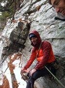 Rock Climbing Photo: cold