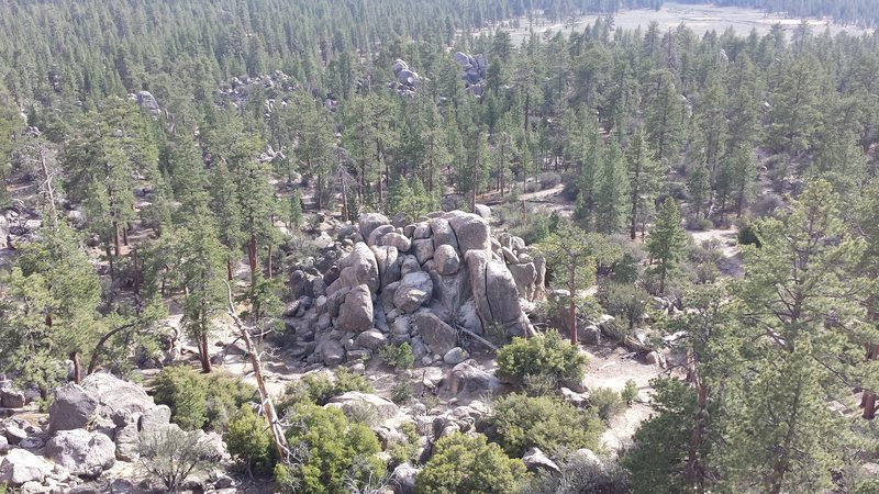 Holcomb Valley Pinnacles