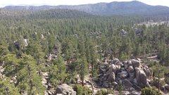 Rock Climbing Photo: Holcomb Valley Pinnacles