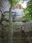 Rock Climbing Photo: Seconding Cheaper than a Movie with Brown Eyed Gir...