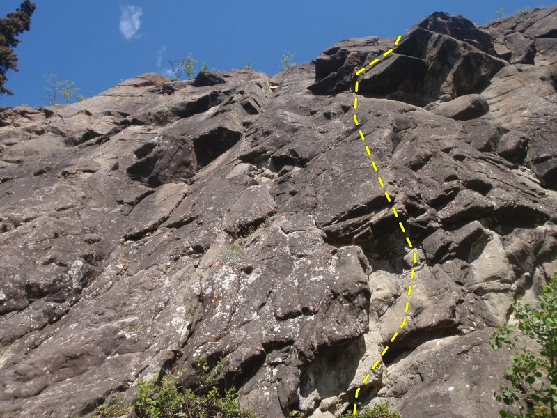 Rock Climbing Photo: If you loves roofs you will enjoy this route.