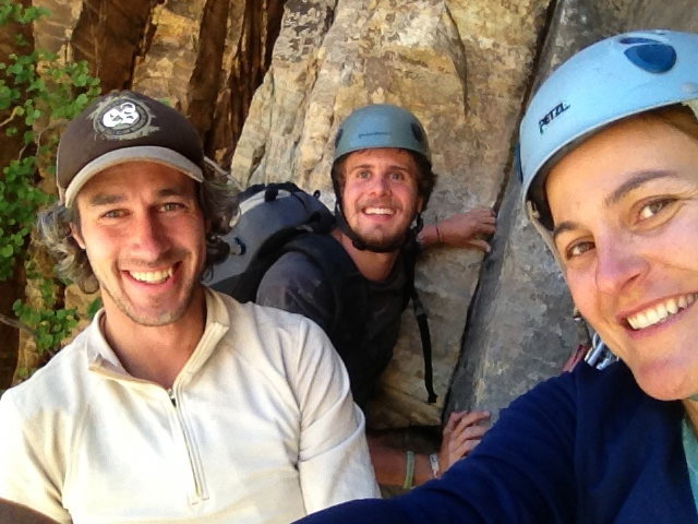 Rock Climbing Photo: One of the best days of climbing ever, nice job Da...