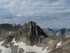 Rock Climbing Photo: Looking at the North Face of Mt. Toll from the tra...