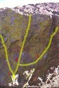 Rock Climbing Photo: #3 Yellow Like Cheese.  Photo from Bob Broilo's Bo...