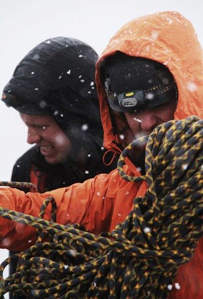 Blizzard In july Grand Teton