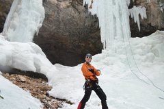 Rock Climbing Photo: Ice Funk