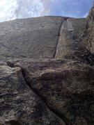 Rock Climbing Photo: Columbian Crack, City of Rocks