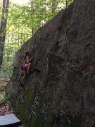 "Rock Climbing Photo: ""One pocket-Two pocket-Three V1"" Cali We..."