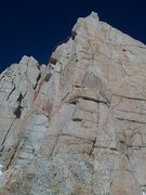 Rock Climbing Photo: The first wall that i felt required a rope.  I wen...