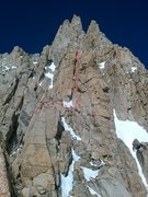 Rock Climbing Photo: the chimney feature below the first tower
