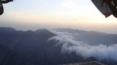 Rock Climbing Photo: Sky view near Khost-Gardez Pass/2010ish