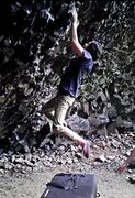 Rock Climbing Photo: Mixing Carrie and the naturalist for one rad climb...
