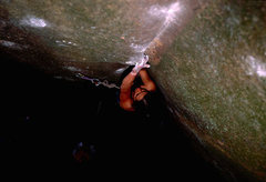 Rolling Stones, 6 bolts, 5.11, face, micro holds, very technical, must be very, very dry. classic route