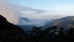 Rock Climbing Photo: Linville Gorge in the morning