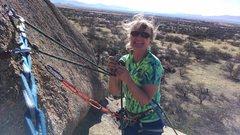 Rock Climbing Photo: I feel so alive!