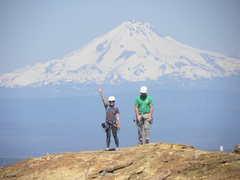 Rock Climbing Photo: Hey kids look where Grandma is today.