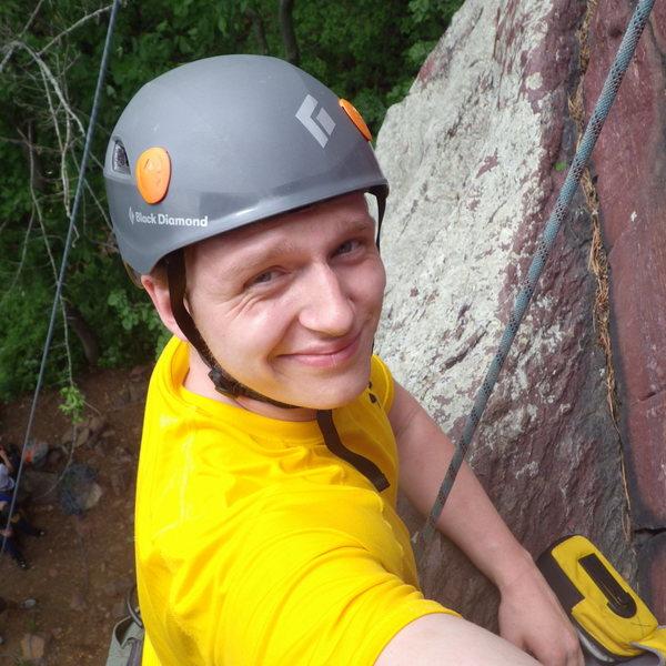 Rock Climbing Photo: At DL.