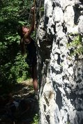 Rock-climbing in Caucasus