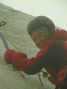 A bit of ice climbing