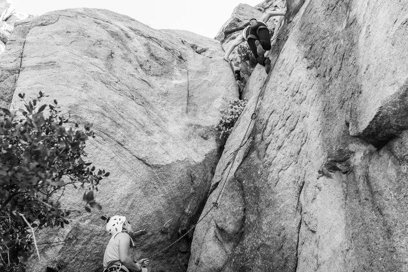 Rock Climbing Photo: photo by Victor Ramirez