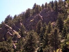 Rock Climbing Photo: Goofy Wall.