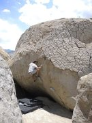 Rock Climbing Photo: Bishop buttermilks