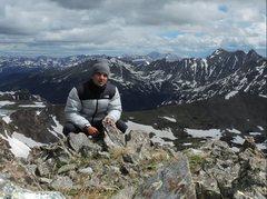 Rock Climbing Photo:  Summit of Jasper Mountain - Colorado
