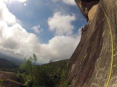Rock Climbing Photo: A sunny day on Anhangava