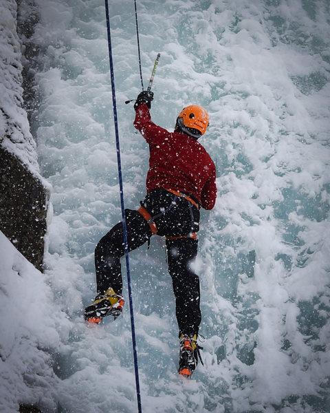 Rock Climbing Photo: Anthony Vito Fiore - Ice Climbing.