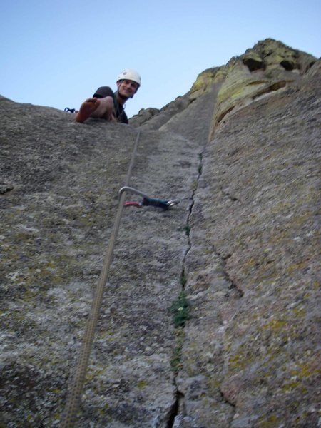 Rock Climbing Photo: You look up it and think WTF, then you get in and ...