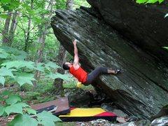 Rock Climbing Photo: Matt Moko on Thunder Arête.