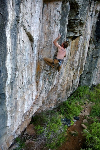Rock Climbing Photo: Fun, technical arete.