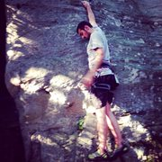 Rock Climbing Photo: Bouldering at Coopers Rock