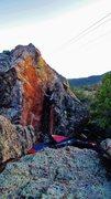 Rock Climbing Photo: Fair To Finland problem.
