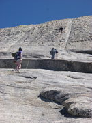 Rock Climbing Photo: A party of three on the Fourth Pitch of Afternoon ...