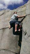 Rock Climbing Photo: The Layback